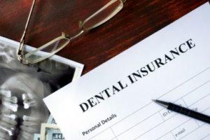 A dental insurance insurance claim